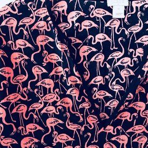 5186cf1d794bd J. Crew Tops   J Crew Flamingo Tunic Swim Cover Up Xs   Poshmark